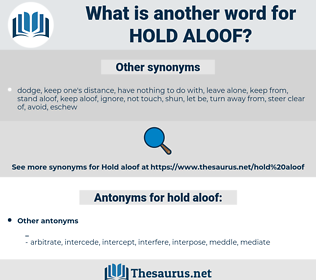 hold aloof, synonym hold aloof, another word for hold aloof, words like hold aloof, thesaurus hold aloof