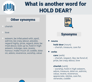 hold dear, synonym hold dear, another word for hold dear, words like hold dear, thesaurus hold dear