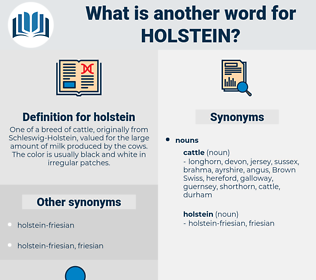holstein, synonym holstein, another word for holstein, words like holstein, thesaurus holstein