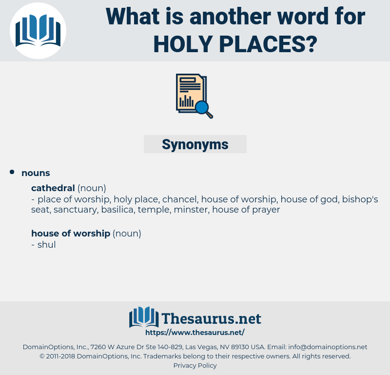 holy places, synonym holy places, another word for holy places, words like holy places, thesaurus holy places