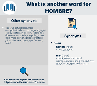 hombre, synonym hombre, another word for hombre, words like hombre, thesaurus hombre