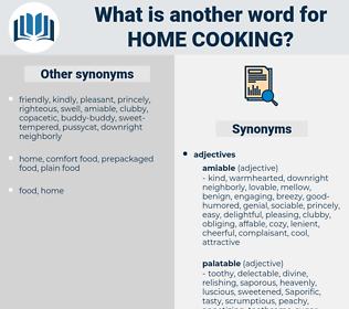 home cooking, synonym home cooking, another word for home cooking, words like home cooking, thesaurus home cooking