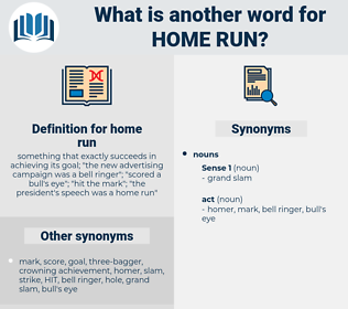 home run, synonym home run, another word for home run, words like home run, thesaurus home run