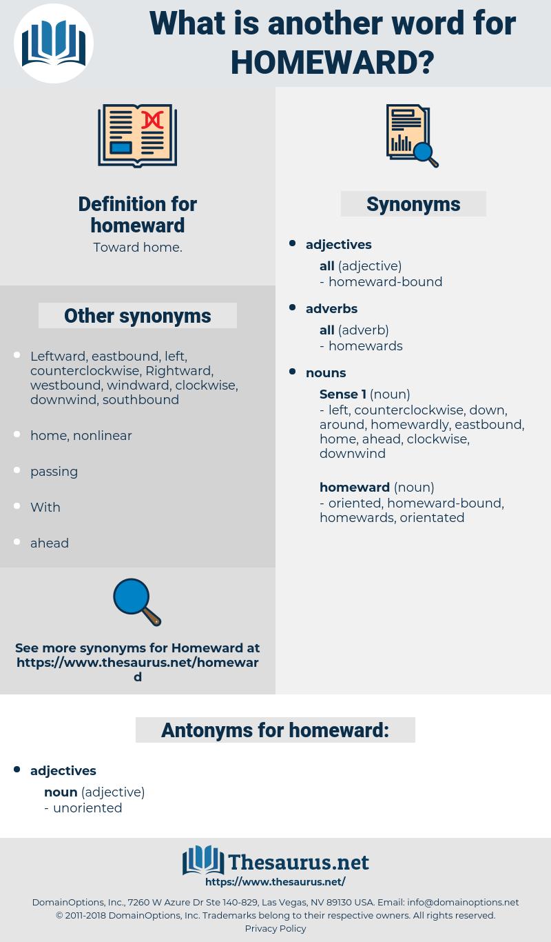 homeward, synonym homeward, another word for homeward, words like homeward, thesaurus homeward