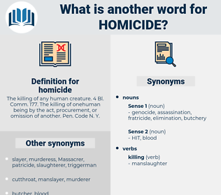 homicide, synonym homicide, another word for homicide, words like homicide, thesaurus homicide