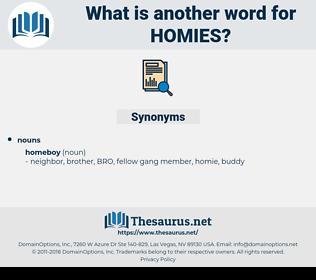 homies, synonym homies, another word for homies, words like homies, thesaurus homies