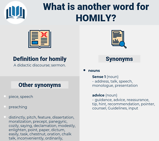 homily, synonym homily, another word for homily, words like homily, thesaurus homily
