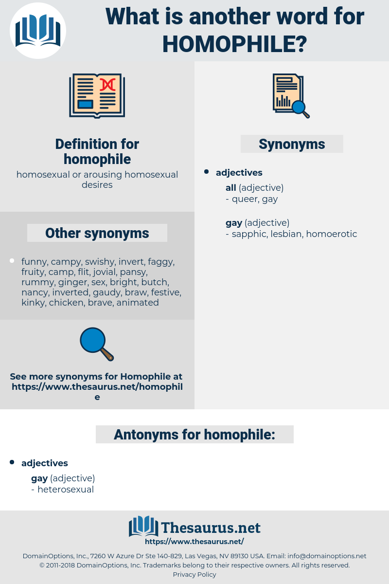 homophile, synonym homophile, another word for homophile, words like homophile, thesaurus homophile