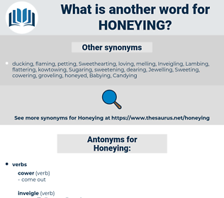 Honeying, synonym Honeying, another word for Honeying, words like Honeying, thesaurus Honeying