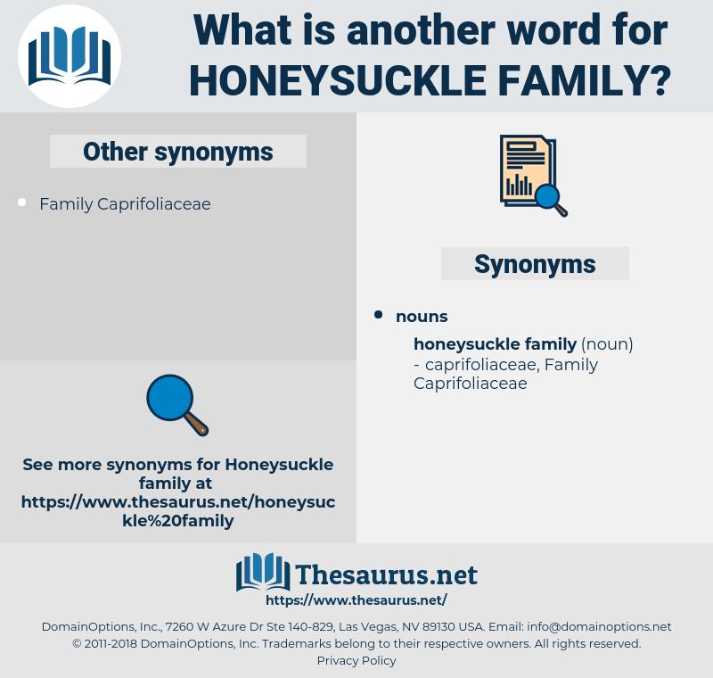 honeysuckle family, synonym honeysuckle family, another word for honeysuckle family, words like honeysuckle family, thesaurus honeysuckle family