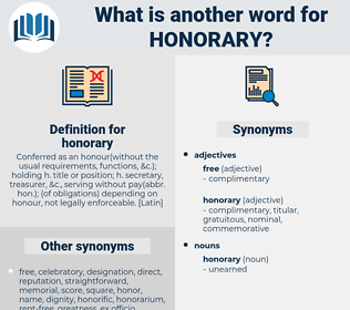 honorary, synonym honorary, another word for honorary, words like honorary, thesaurus honorary