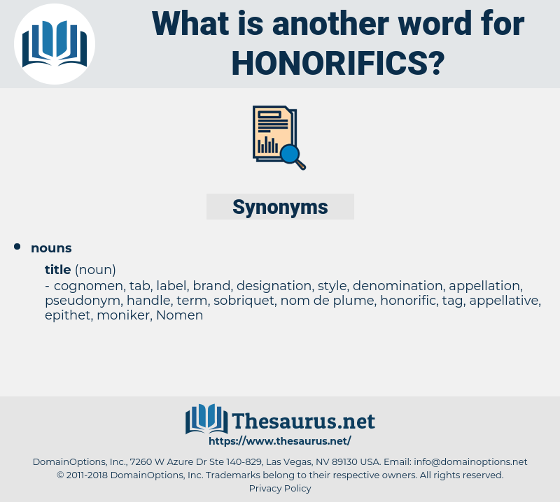 honorifics, synonym honorifics, another word for honorifics, words like honorifics, thesaurus honorifics