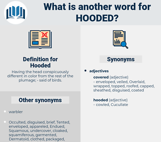 Hooded, synonym Hooded, another word for Hooded, words like Hooded, thesaurus Hooded