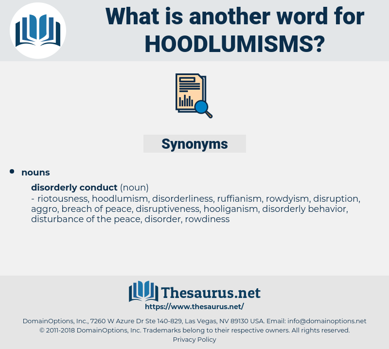 hoodlumisms, synonym hoodlumisms, another word for hoodlumisms, words like hoodlumisms, thesaurus hoodlumisms