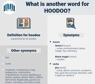 hoodoo, synonym hoodoo, another word for hoodoo, words like hoodoo, thesaurus hoodoo