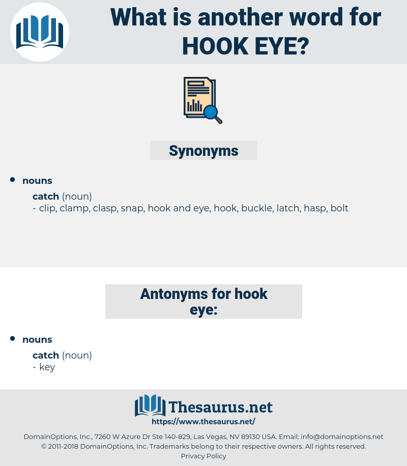 hook eye, synonym hook eye, another word for hook eye, words like hook eye, thesaurus hook eye