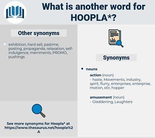 hoopla, synonym hoopla, another word for hoopla, words like hoopla, thesaurus hoopla