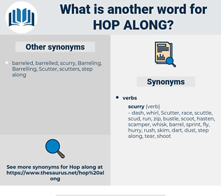 hop along, synonym hop along, another word for hop along, words like hop along, thesaurus hop along