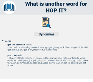 hop it, synonym hop it, another word for hop it, words like hop it, thesaurus hop it
