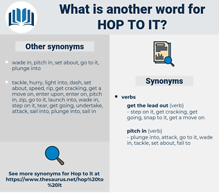 hop to it, synonym hop to it, another word for hop to it, words like hop to it, thesaurus hop to it