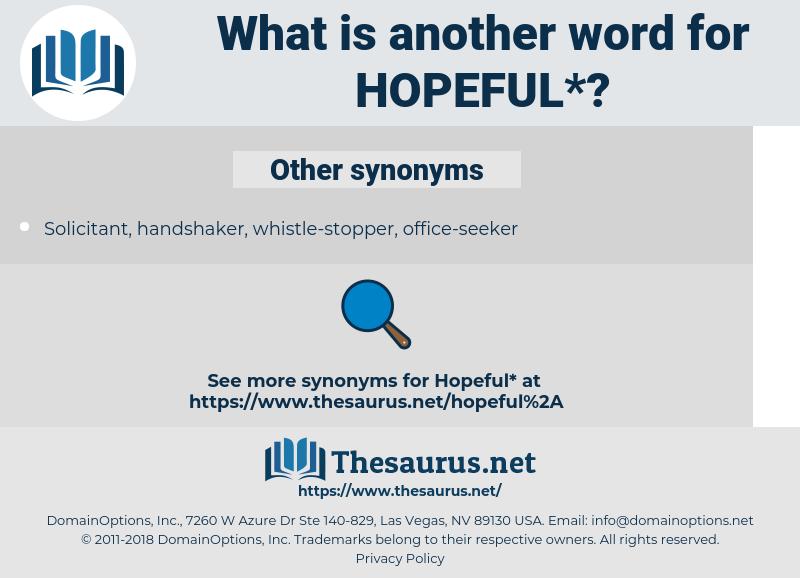 hopeful, synonym hopeful, another word for hopeful, words like hopeful, thesaurus hopeful