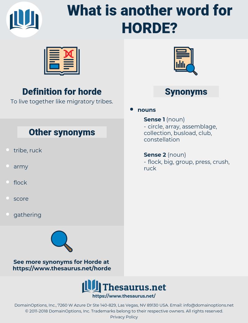 horde, synonym horde, another word for horde, words like horde, thesaurus horde