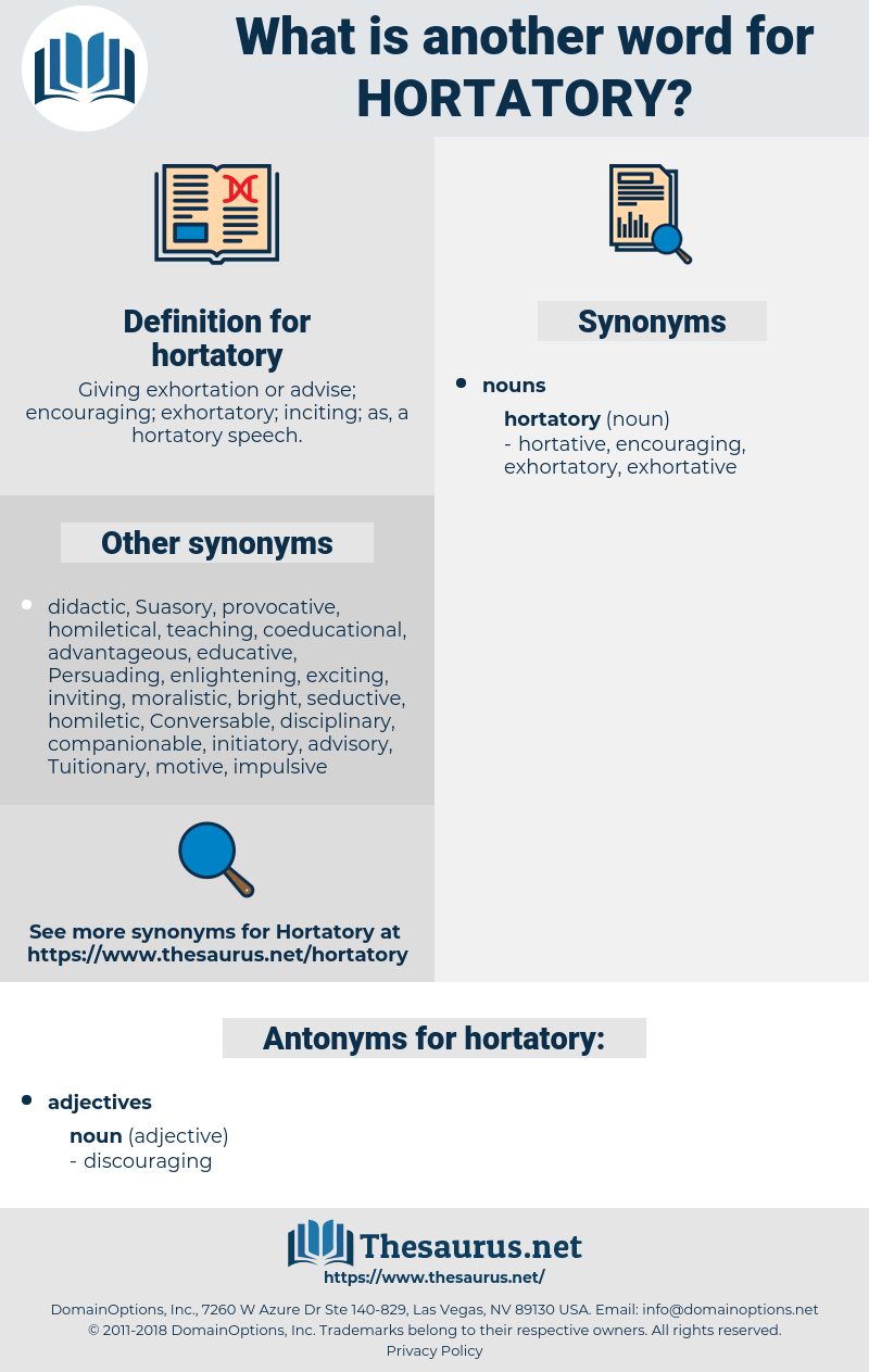 hortatory, synonym hortatory, another word for hortatory, words like hortatory, thesaurus hortatory