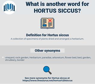 Hortus siccus, synonym Hortus siccus, another word for Hortus siccus, words like Hortus siccus, thesaurus Hortus siccus