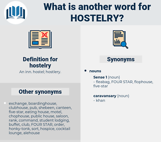 hostelry, synonym hostelry, another word for hostelry, words like hostelry, thesaurus hostelry