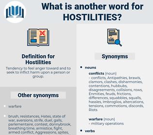 Hostilities, synonym Hostilities, another word for Hostilities, words like Hostilities, thesaurus Hostilities
