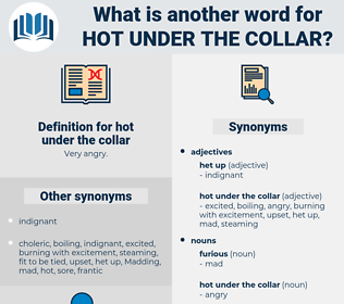 hot under the collar, synonym hot under the collar, another word for hot under the collar, words like hot under the collar, thesaurus hot under the collar
