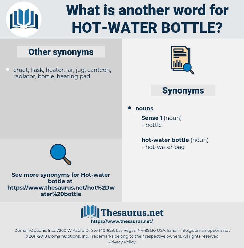 hot water bottle, synonym hot water bottle, another word for hot water bottle, words like hot water bottle, thesaurus hot water bottle