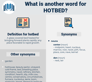 hotbed, synonym hotbed, another word for hotbed, words like hotbed, thesaurus hotbed