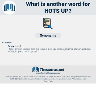 hots up, synonym hots up, another word for hots up, words like hots up, thesaurus hots up