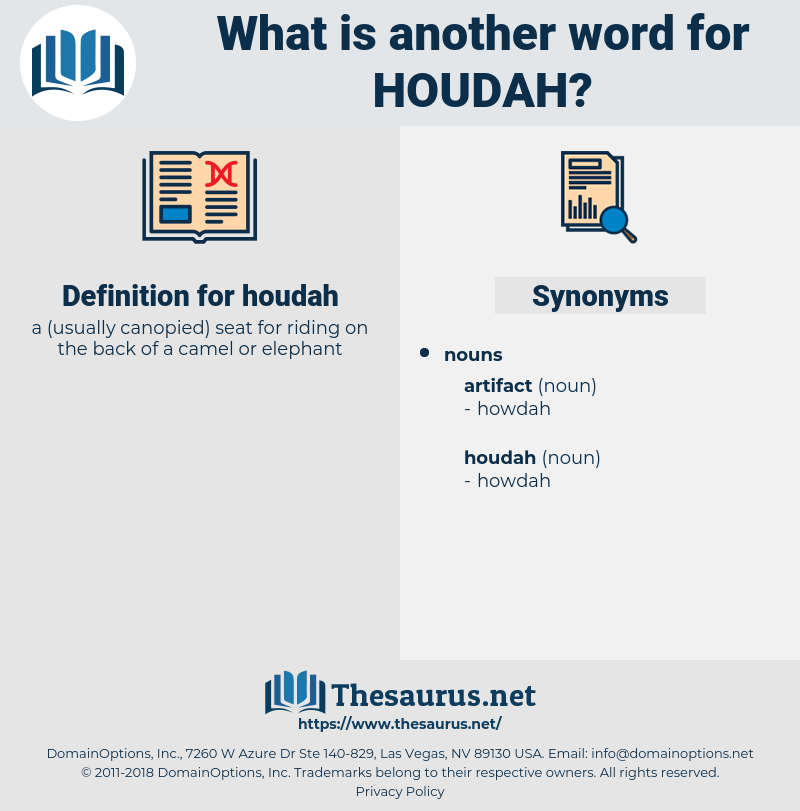 houdah, synonym houdah, another word for houdah, words like houdah, thesaurus houdah