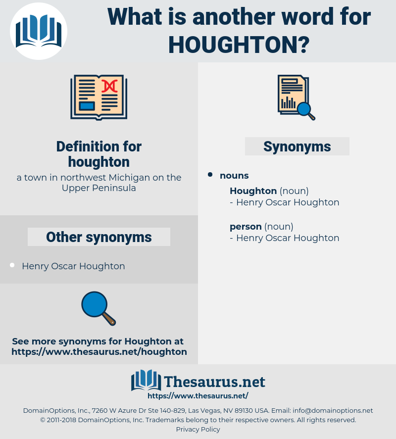 houghton, synonym houghton, another word for houghton, words like houghton, thesaurus houghton