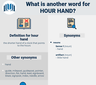 hour hand, synonym hour hand, another word for hour hand, words like hour hand, thesaurus hour hand