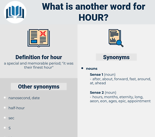 hour, synonym hour, another word for hour, words like hour, thesaurus hour