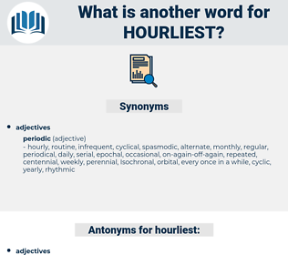 hourliest, synonym hourliest, another word for hourliest, words like hourliest, thesaurus hourliest