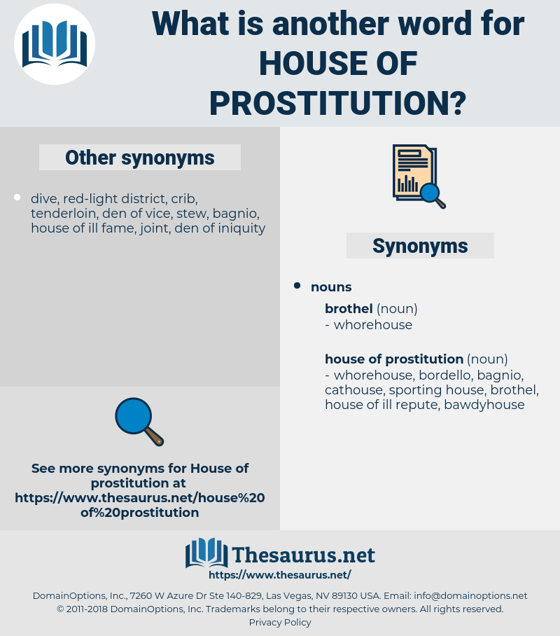 house of prostitution, synonym house of prostitution, another word for house of prostitution, words like house of prostitution, thesaurus house of prostitution