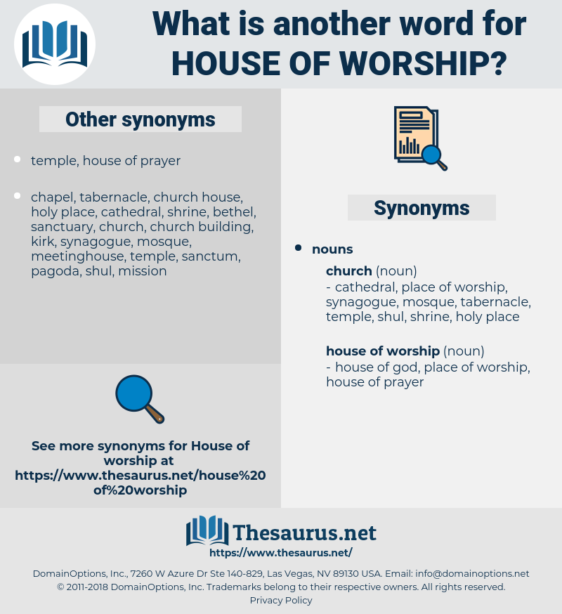 house of worship, synonym house of worship, another word for house of worship, words like house of worship, thesaurus house of worship