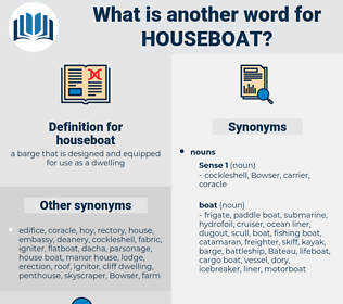 houseboat, synonym houseboat, another word for houseboat, words like houseboat, thesaurus houseboat