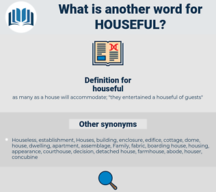 houseful, synonym houseful, another word for houseful, words like houseful, thesaurus houseful