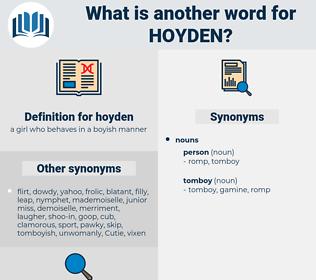 hoyden, synonym hoyden, another word for hoyden, words like hoyden, thesaurus hoyden