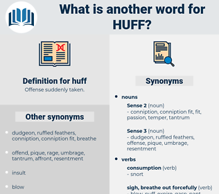 huff, synonym huff, another word for huff, words like huff, thesaurus huff