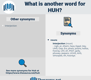 HUH, synonym HUH, another word for HUH, words like HUH, thesaurus HUH