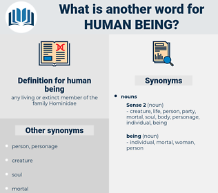 human being, synonym human being, another word for human being, words like human being, thesaurus human being