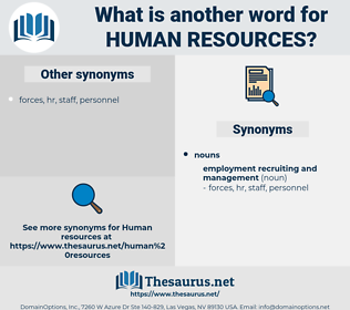 Human Resources, synonym Human Resources, another word for Human Resources, words like Human Resources, thesaurus Human Resources