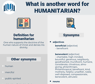 humanitarian, synonym humanitarian, another word for humanitarian, words like humanitarian, thesaurus humanitarian