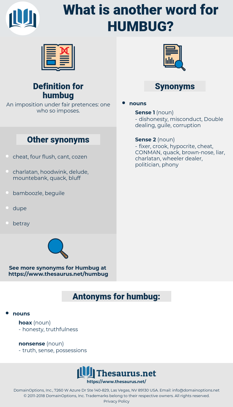 humbug, synonym humbug, another word for humbug, words like humbug, thesaurus humbug